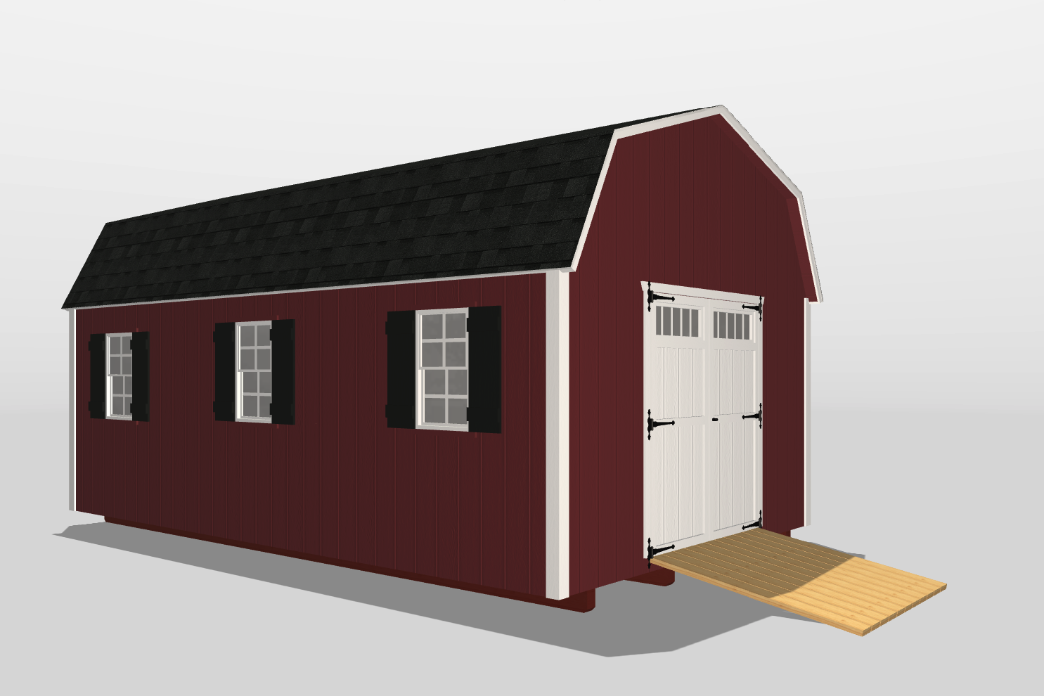 storage shed with loft perry ga
