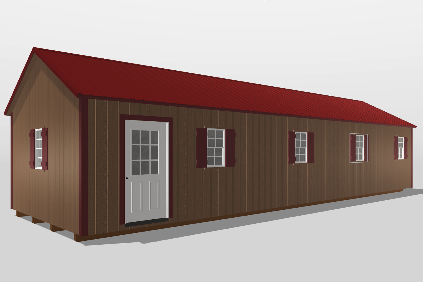 shed house perry ga