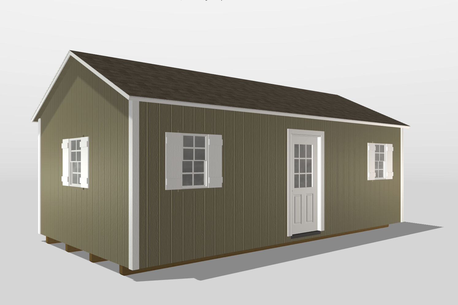 12x24 shed for living vidalia ga