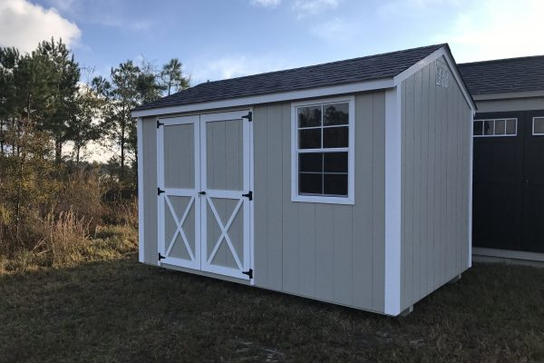 8x12 silver maple white shed sandersville ga