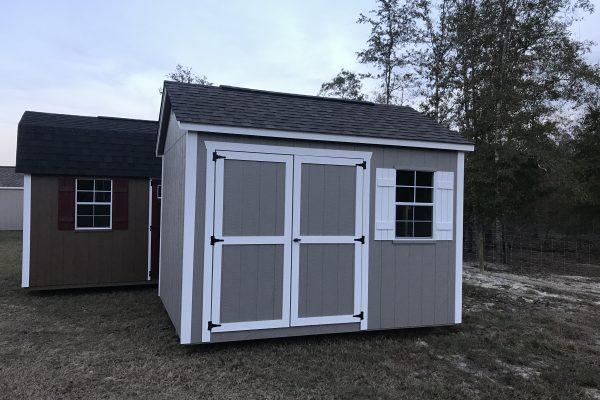 10x12 clay white shed eastman ga