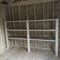 10x12 shelves in shed statesboro ga