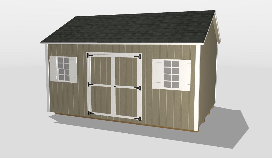 augusta ga 3D shed builder