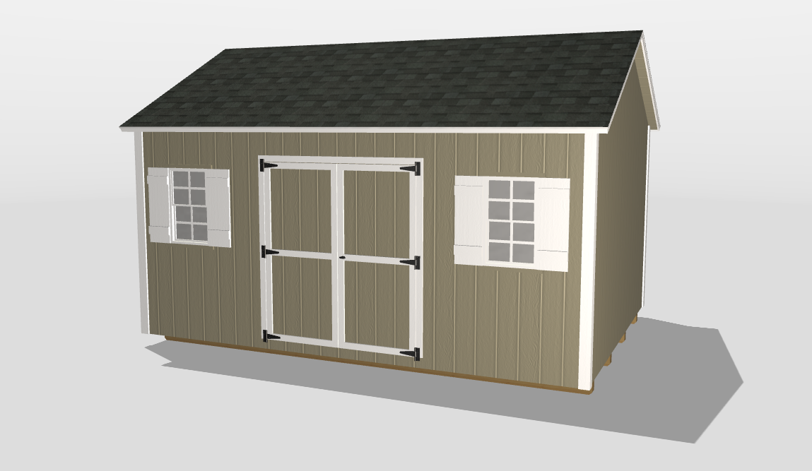 macon ga 3D shed builder