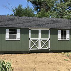 macon ga custom storage shed lofted barn max 007