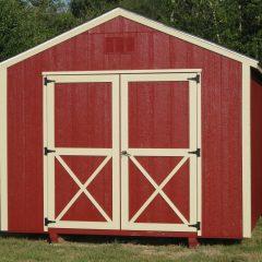 macon ga portable wood building utility shed 008
