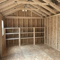 12x20gm buckskin interior shed louisville ga