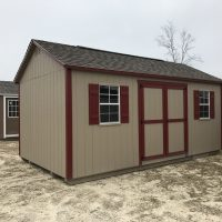 12x20gm buckskin red shed jackson ga