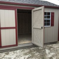12x20 gm door shed hawkinsville ga