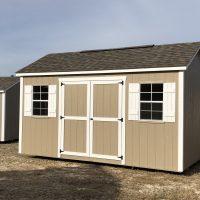 10x16 buck white shed lyons ga