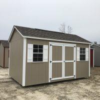 10x16 buckskin white shed vidalia ga