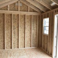 10x16 interior buckskin shed swainsboro ga