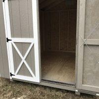 8x10Ut clay white shed sandersville ga