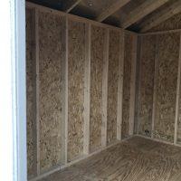 8x10 Utility interior shed augusta ga