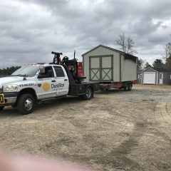 storage shed delivery Forsyth GA