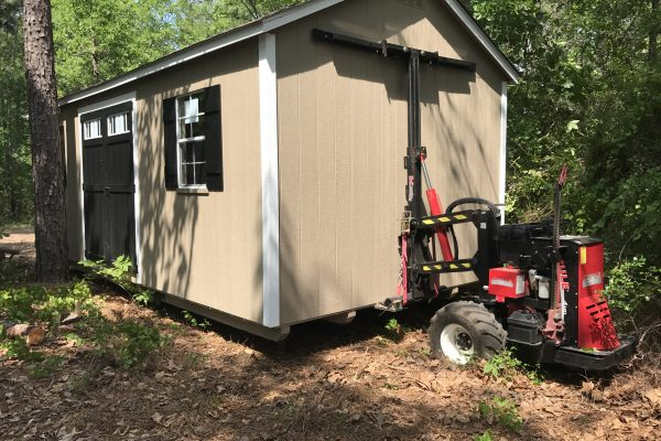 storage shed delivery Sylvania GA