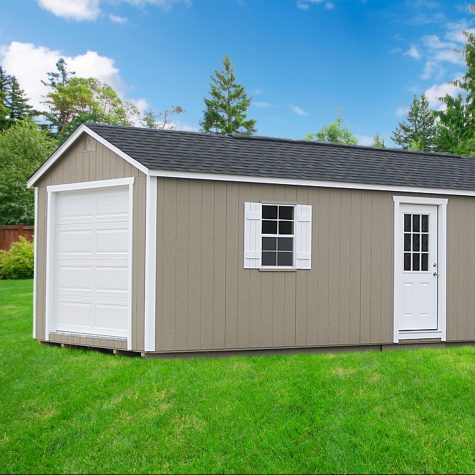 portable storage buildings garage