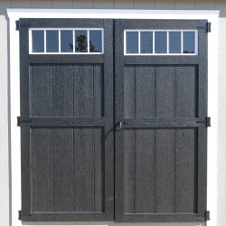 portable storage buildings door features milledgeville ga