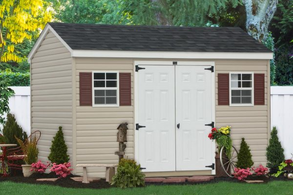 vinyl shed exterior wall material