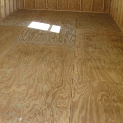 prefab garage shed pressure treated plywood floor