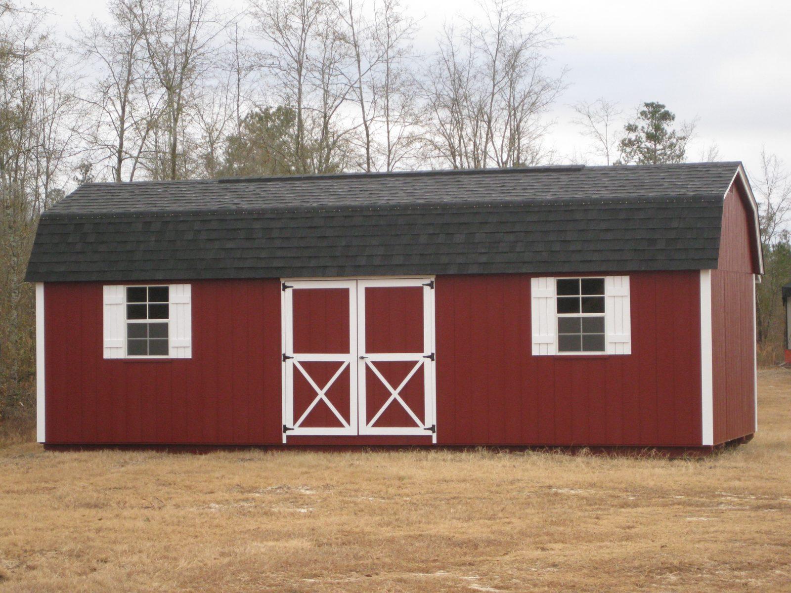 12x28 Lofted Barn Durastor Structures