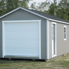 portable wood buildings garage 3