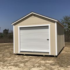 portable wood buildings garage 2