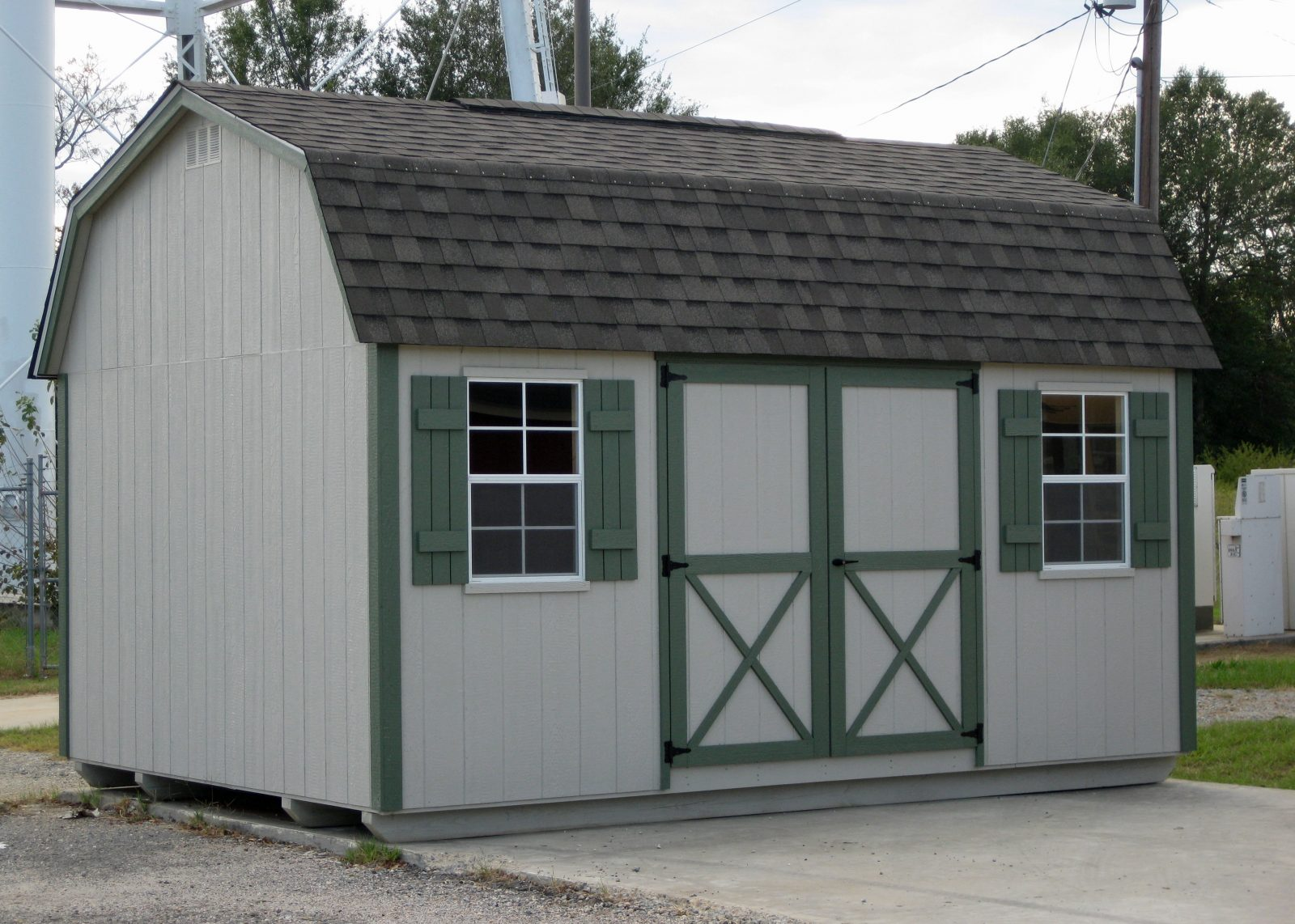 Custom Storage Shed Lofted Barn Max 015