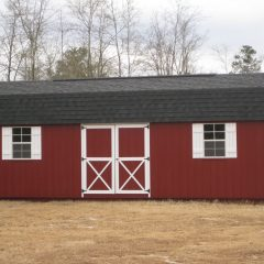 custom storage shed lofted barn max 010 statesboro ga