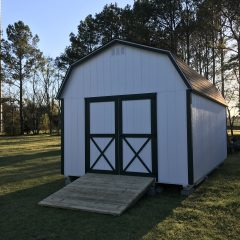 custom storage shed lofted barn max 003 swainsboro ga