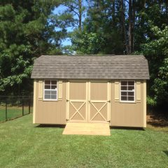 custom storage shed lofted barn max 013 warner robins ga