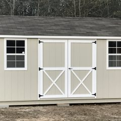 portable wood building utility shed 001