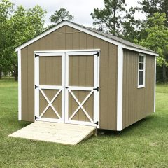 portable wood building utility shed 003