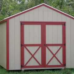 portable wood building utility shed 015 louisville ga