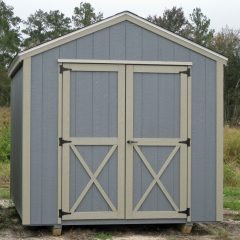 portable wood building utility shed 016