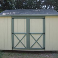 portable wood building utility shed 004