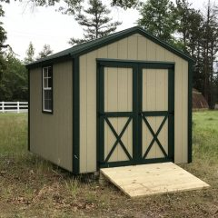 portable wood building utility shed 007