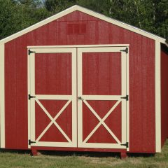 portable wood building utility shed 008