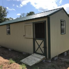 portable wood building utility shed 009