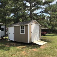 portable wood building utility shed 010
