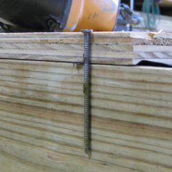 prefabricated sheds 3 inch flooring nails