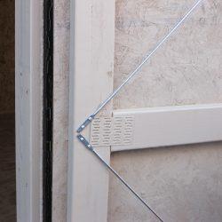 prefabricated sheds adjustable tension rods forsyth ga