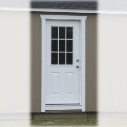 prefabricated sheds 36 inch 9 lite door vidalia ga