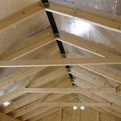 prefabricated sheds rafters
