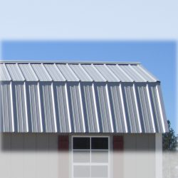 prefabricated sheds metal roof