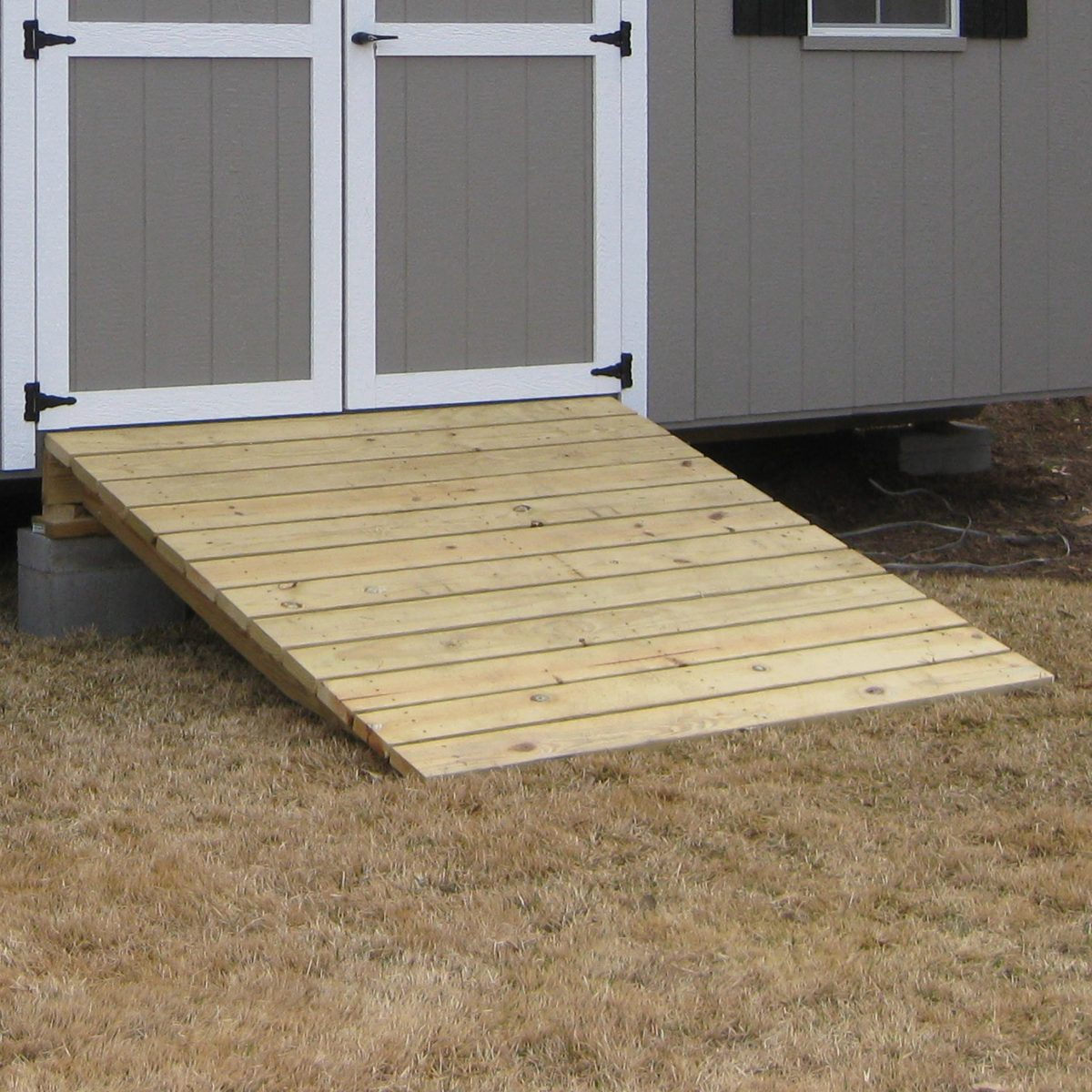 Storage Shed Ramps >> Get Custom Sheds | We Build Sheds to Your Specs in GA