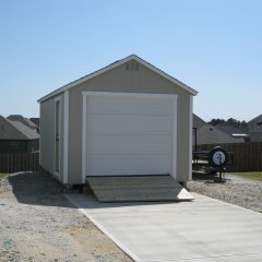 portable wood buildings garage 4
