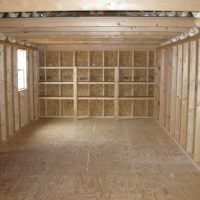 portable wood buildings garden max 12x28 statesboro ga