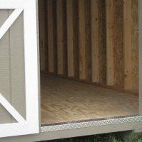 10x12 Utility shed door dublin ga